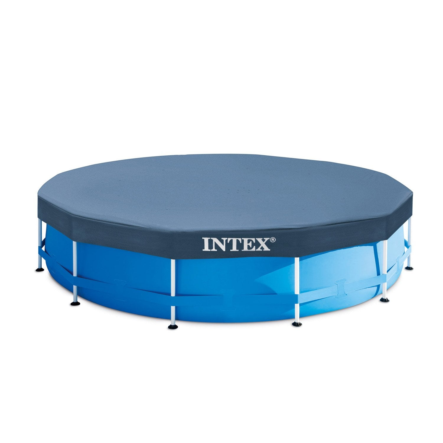 B che hiver intex de protection pour piscine ronde 3m66 - Bache pour piscine intex 3 66 ...