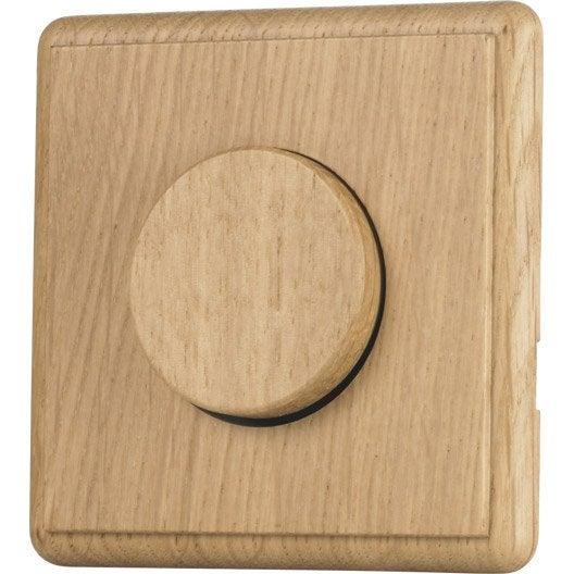 interrupteur va et vient chanterelle ch ne modul design leroy merlin. Black Bedroom Furniture Sets. Home Design Ideas