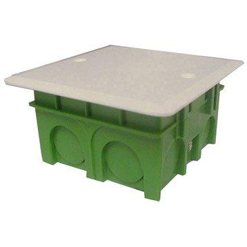 Boîte de dérivation pour maçonnerie à encastrer, 8 entrées, DEBFLEX