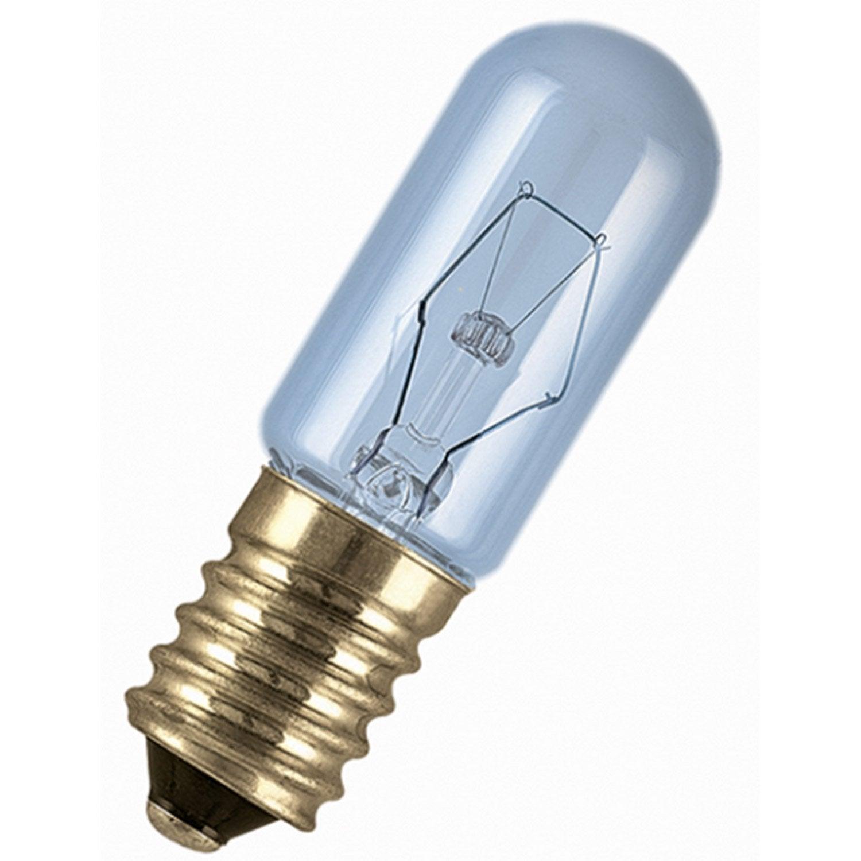 Ampoule Tube Incandescente Pour Frigo15w 100lm E14 2700k Osram