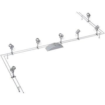 Spot sur rail et câble