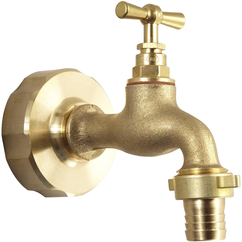 3ecc7aebd0b7d8 Robinet cuve grillagée récupérateur eau de pluie 20 x 27mm   Leroy ...
