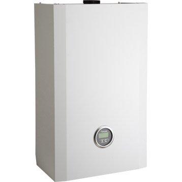 Chaudière murale gaz à condensation instantanée VERGNE MC3 24.28 GN +KIT, 24kW