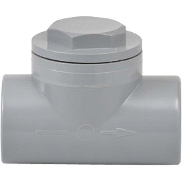 Clapet Antiretour En Pvc à Coller Femelle Femelle D40