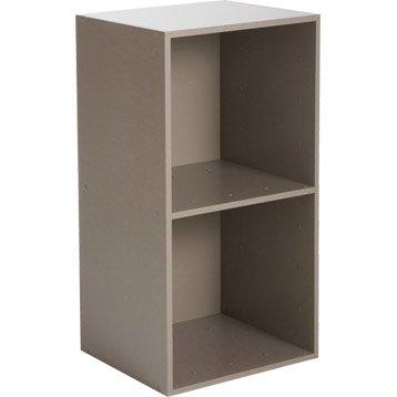 Etag re et meuble de rangement multikaz leroy merlin - Cubes de rangement leroy merlin ...