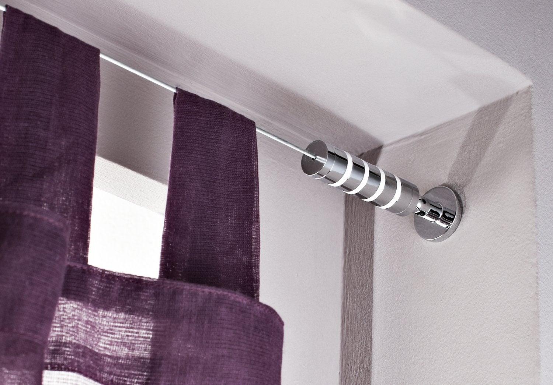 les tringles rideaux sortent de l 39 anonymat leroy merlin. Black Bedroom Furniture Sets. Home Design Ideas