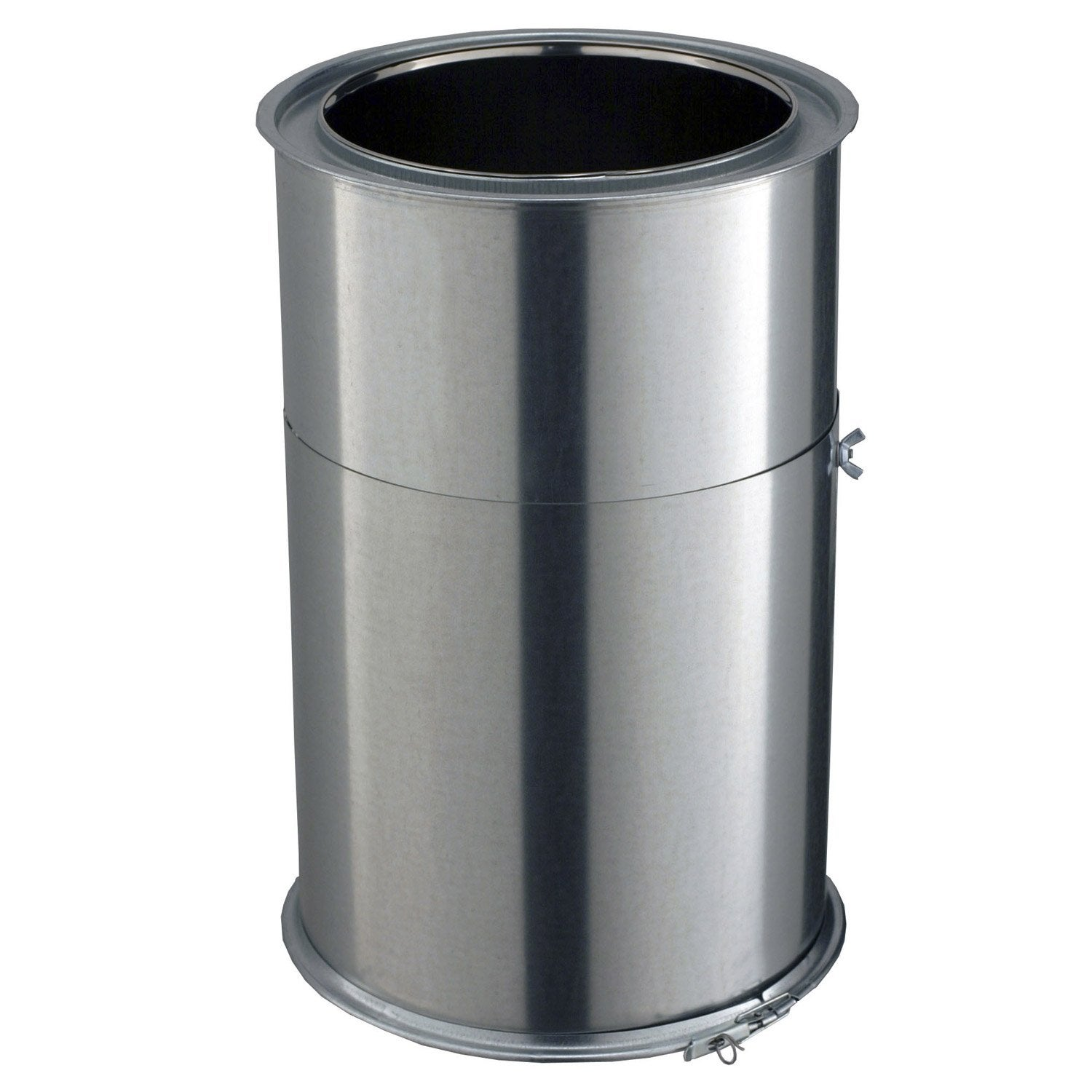 tuyau pour conduit double paroi poujoulat d230 mm m mm leroy merlin. Black Bedroom Furniture Sets. Home Design Ideas