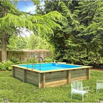 Piscine piscine hors sol gonflable tubulaire leroy - Piscine hors sol beton ...