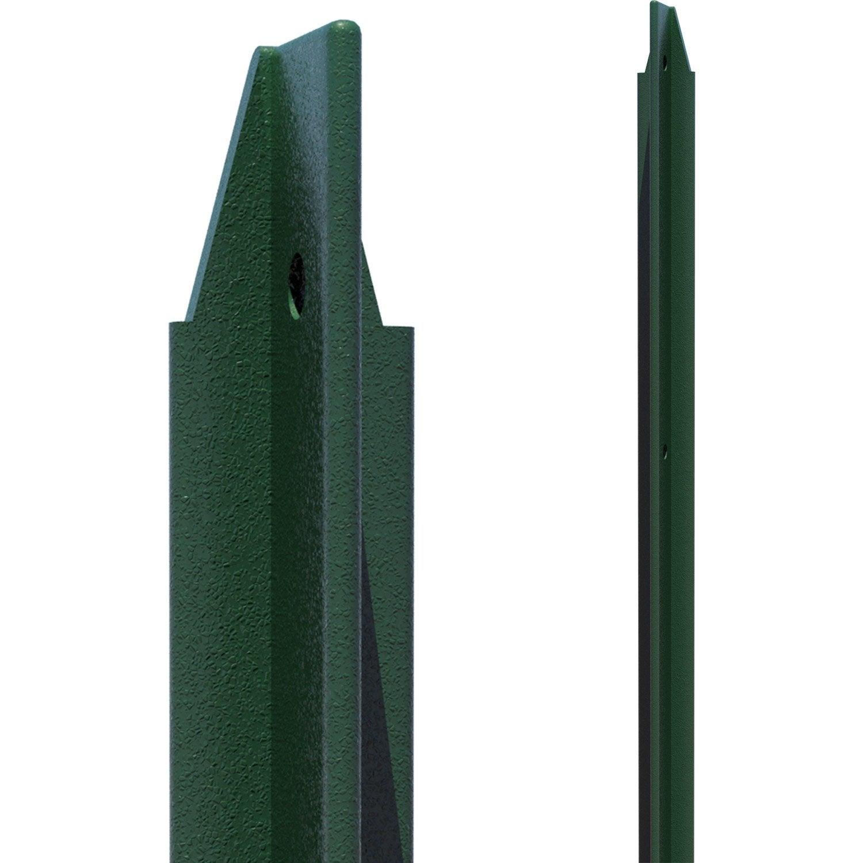 Piquet Vert H 150 X Section 30x30x3 Cm Leroy Merlin