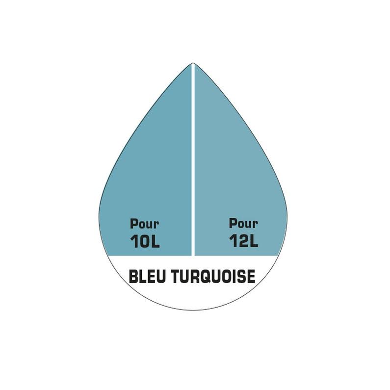Colorant Spécial Peinture Acrylique Luxens 1000 Ml Bleu Turquoise
