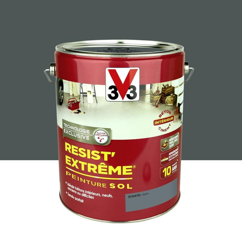 Peinture Sol Extérieur Résist Extrême V33 Gris Schiste 5 L