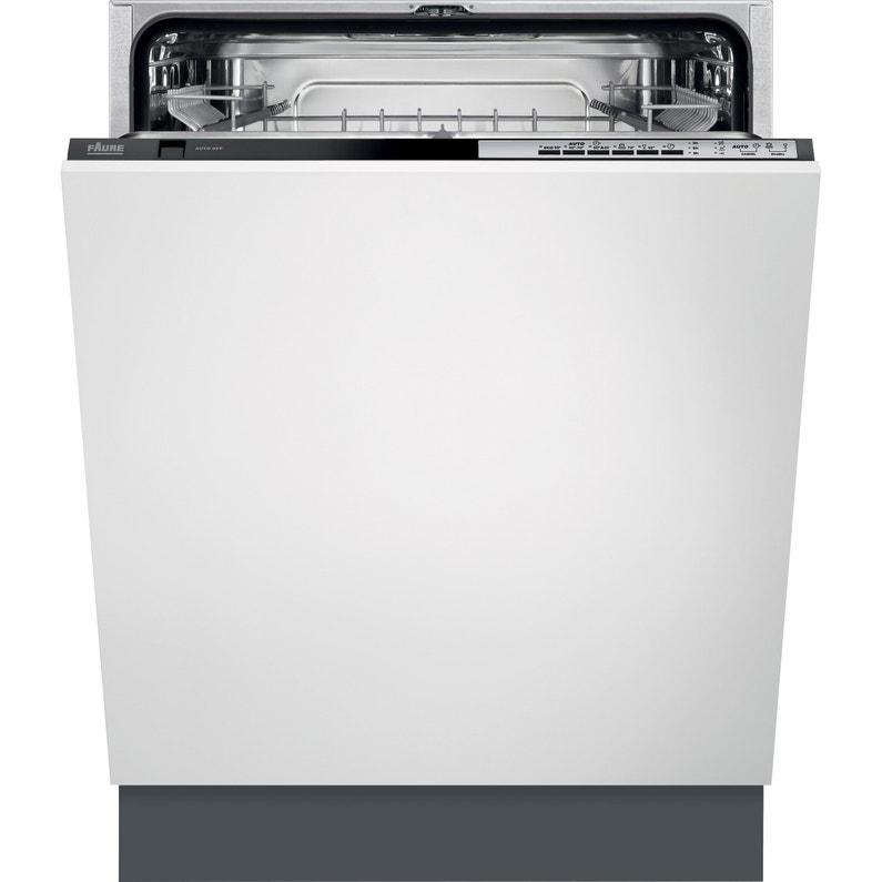 Lave Vaisselle Intégrable L596 Cm Faure 13 Couverts