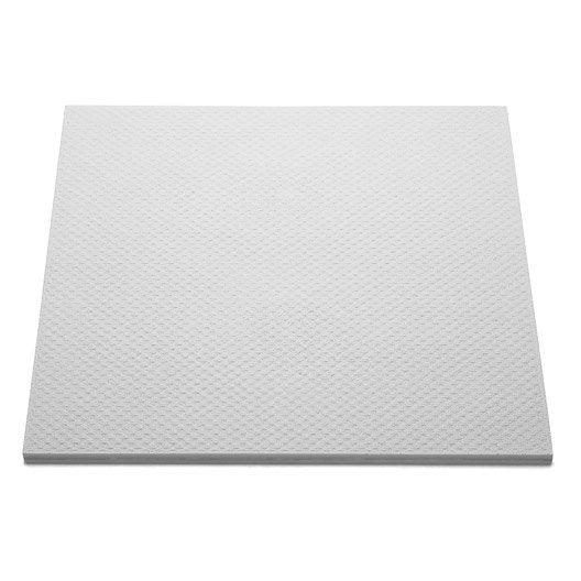 Dalle de plafond t 141 50 x 50 cm p 10 mm polystyr ne expans lot de 2m leroy merlin - Polystyrene expanse leroy merlin ...