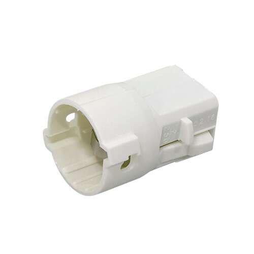 Lot De 20 Douilles électriques Automatique B22 Nylon Blanc