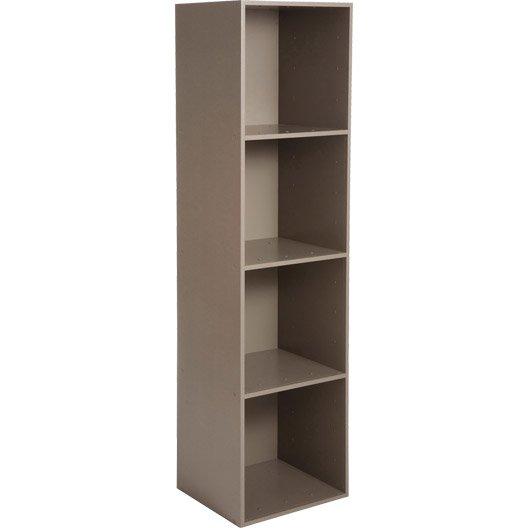 Etag re et meuble de rangement multikaz leroy merlin for Leroy merlin etagere salle de bain