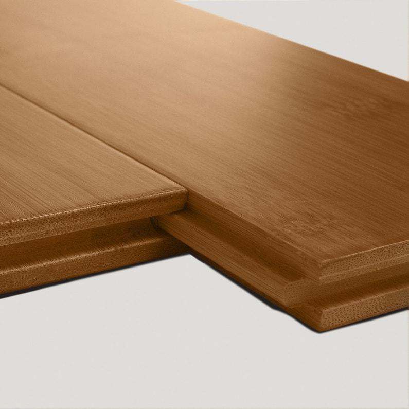 rev tement de sol bambou caramel vitrifi s aero solid. Black Bedroom Furniture Sets. Home Design Ideas