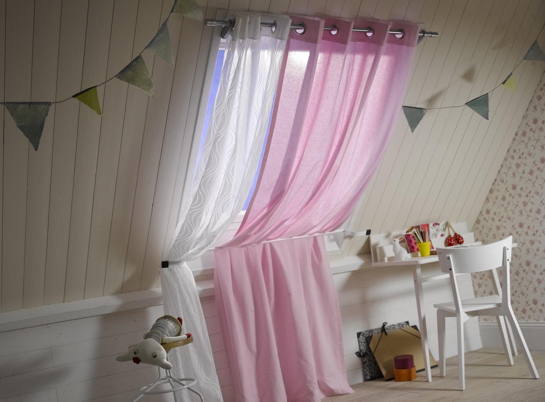 Des tringles rideaux pour une chambre d 39 enfant leroy merlin - Tringle a rideaux leroy merlin ...