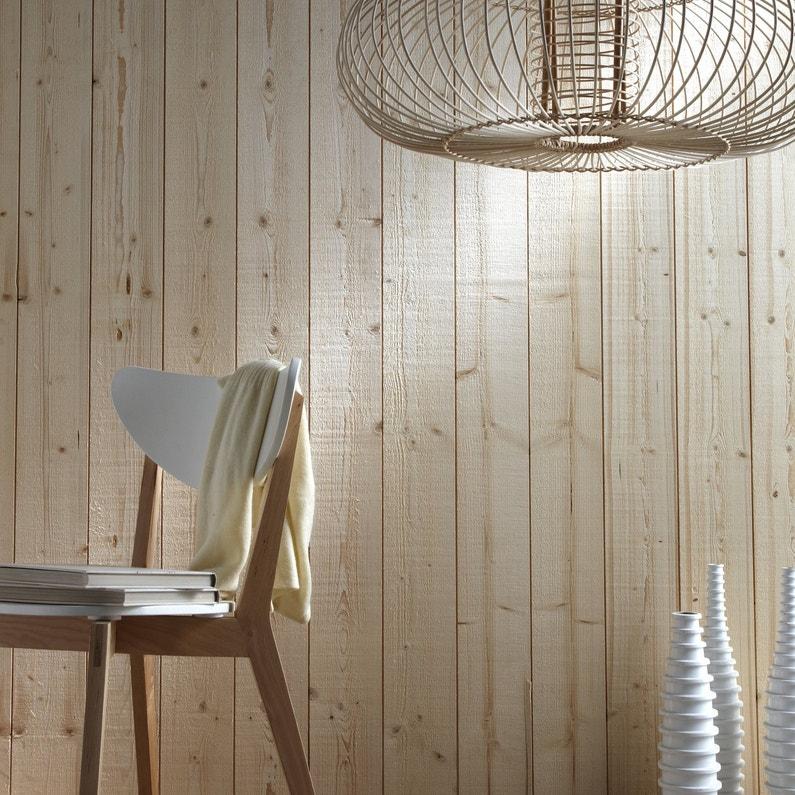 Le lambris transforme les murs for Cheville bois pour charpente