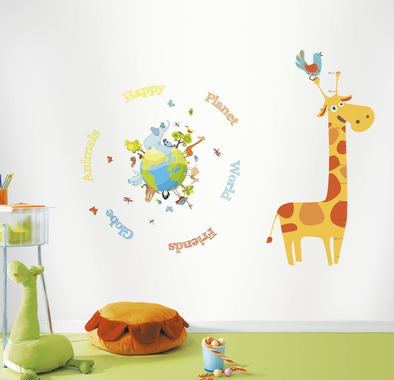 les stickers r veillent les chambres d 39 enfants. Black Bedroom Furniture Sets. Home Design Ideas