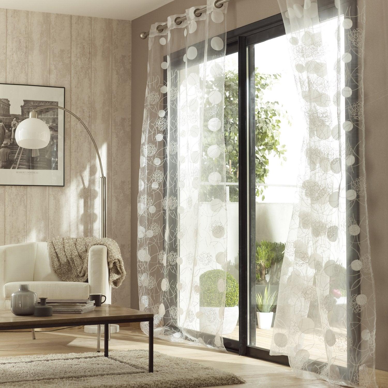 cheap des voilages avec des formes gomtriques pour. Black Bedroom Furniture Sets. Home Design Ideas