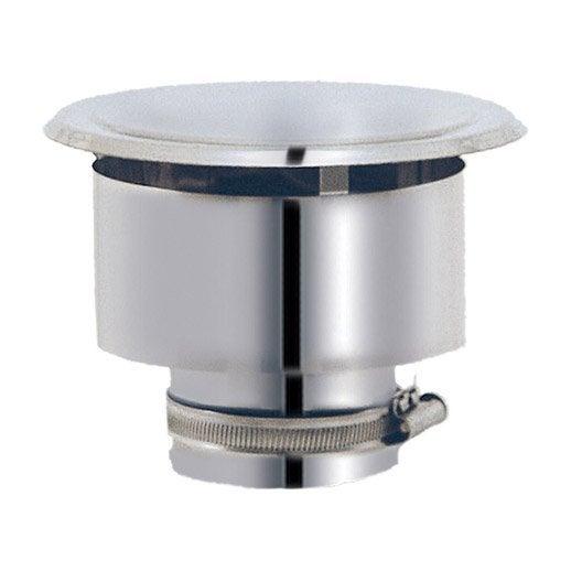 chapeau pour sortie de toit isotip joncoux 100 mm leroy merlin. Black Bedroom Furniture Sets. Home Design Ideas