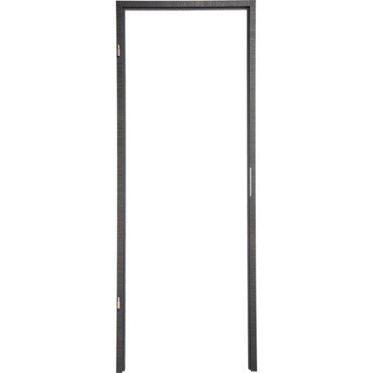 porte b ti ajustable en pose fin de chantier leroy merlin. Black Bedroom Furniture Sets. Home Design Ideas