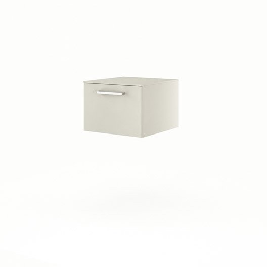 meuble bas x x cm beige neo line leroy merlin. Black Bedroom Furniture Sets. Home Design Ideas