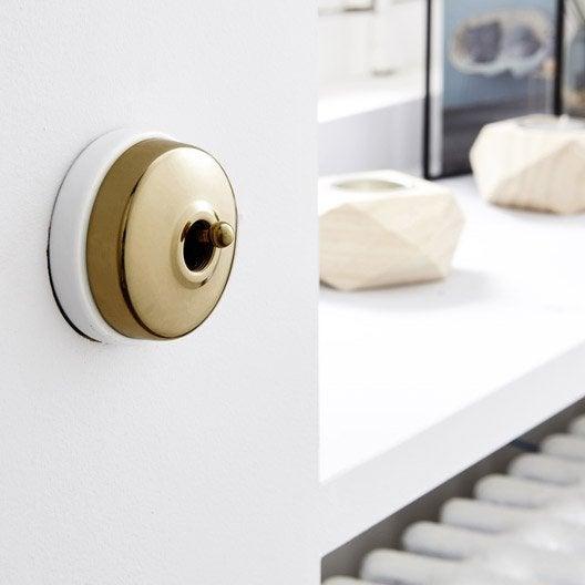 interrupteurs et prises fontini s rie dimbler brun. Black Bedroom Furniture Sets. Home Design Ideas