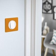 Interrupteurs et prises LEGRAND,série Céliane orange / cuivré