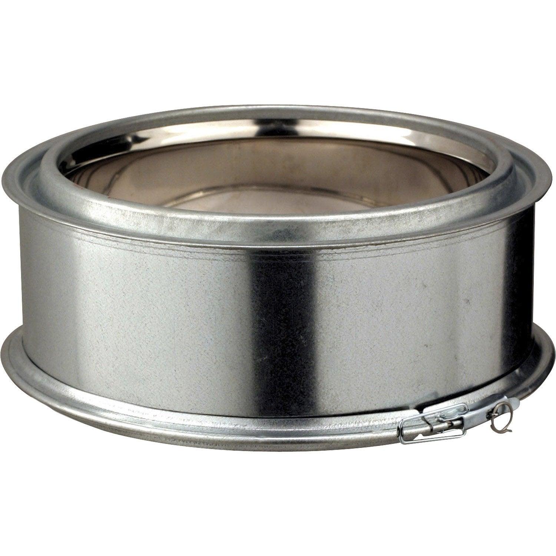 tuyau pour conduit double paroi poujoulat d230 mm 0 1 m mm leroy merlin. Black Bedroom Furniture Sets. Home Design Ideas