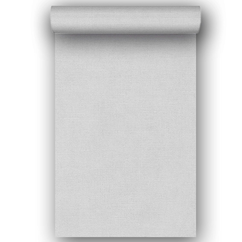 Papier peint intissé Amore gris clair