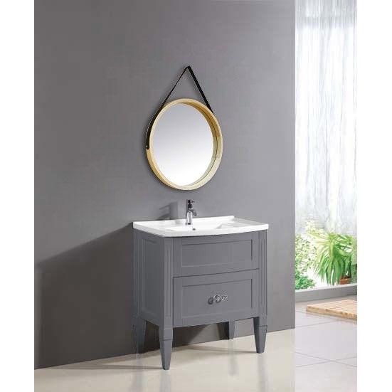 Miroir Barbier scandinave l 39 x H 39 cm