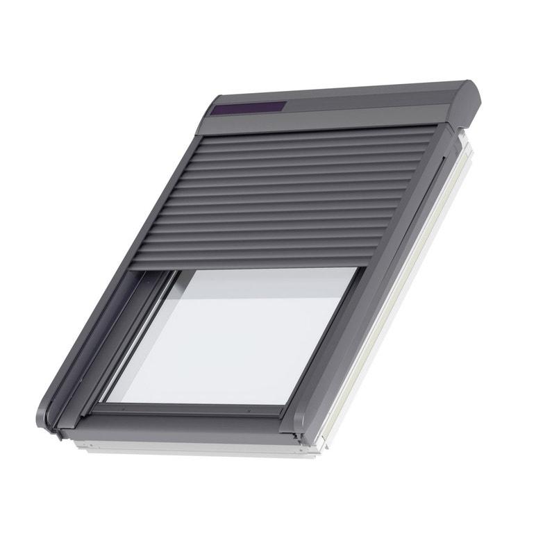 Volet Fenêtre De Toit Roulant à énergie Solaire Velux Ssl Mk04
