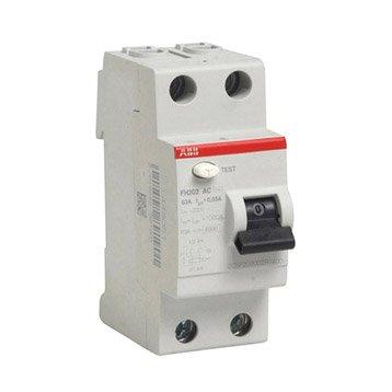 Interrupteur différentiel ABB, 30 mA 63 A AC