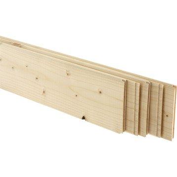 Plinthe bois plinthe mdf plinthe pvc panneau bois tablette tasseau mou - Planche bois pin leroy merlin ...