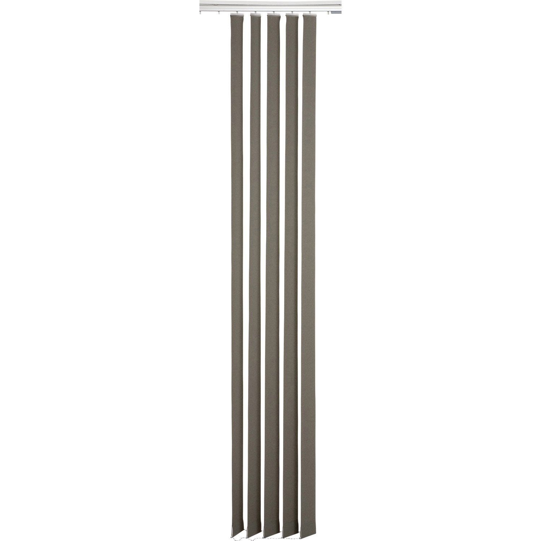 5 lamelles verticales orientables screen taupe x cm leroy merlin. Black Bedroom Furniture Sets. Home Design Ideas