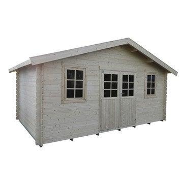 Abri de jardin abri garage rangement et tendage leroy merlin - Abri de jardin pvc leroy merlin ...