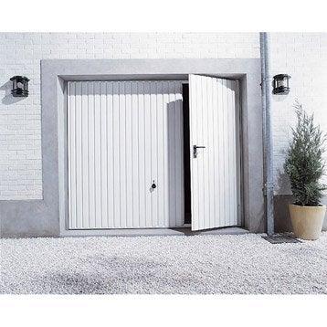 Porte de garage sectionnelle basculante porte de garage - Porte de garage basculante avec portillon leroy merlin ...