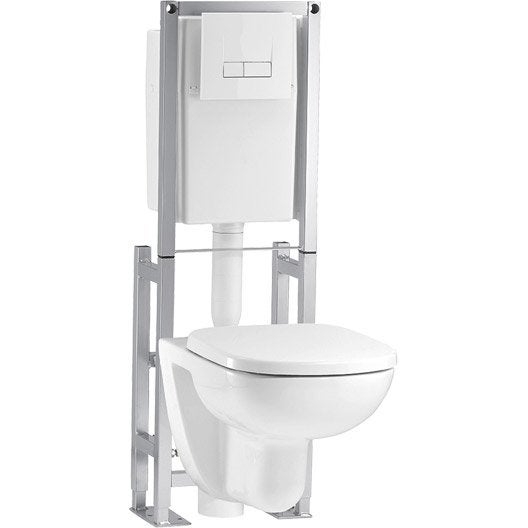 Comment installer un wc suspendu leroy merlin for Arrivee d eau wc suspendu