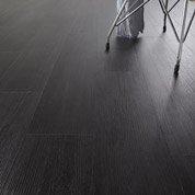 Lame PVC adhésive ARTENS Senso Rustic, décor pin, noir