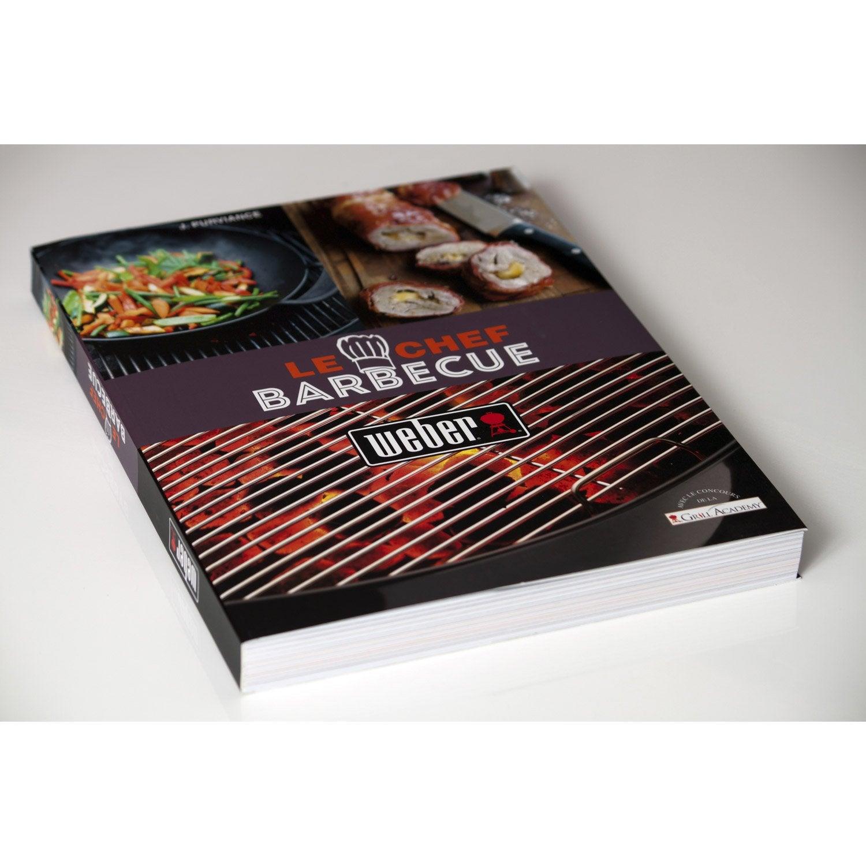 livre de recettes chef barbecue weber | leroy merlin