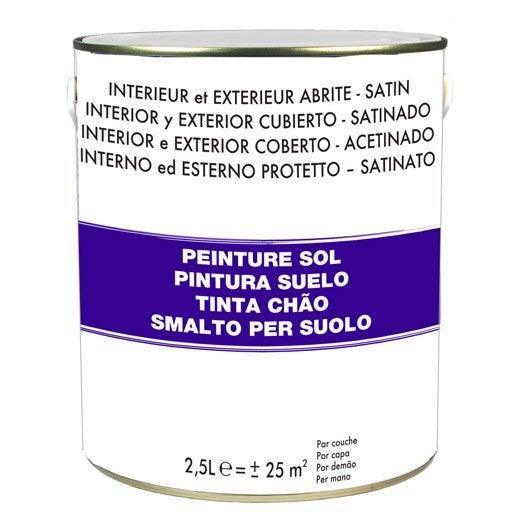 Peinture sol ext rieur et garage peinture lasure et for Peinture sol pour escalier bois