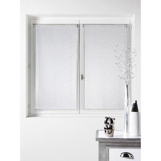 vitrage brise bise rideau voilage et vitrage leroy merlin. Black Bedroom Furniture Sets. Home Design Ideas