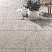 Carrelage sol blanchi effet bois River l.45 x L.45 cm