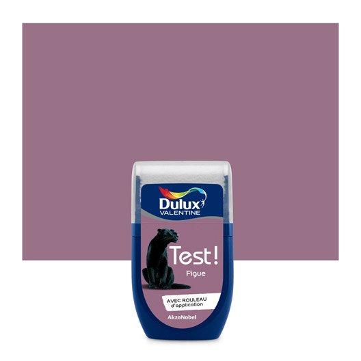 Testeur mini dose pour tester la peinture echantillon luxens dulux valentine ripolin for Peinture couleur figue