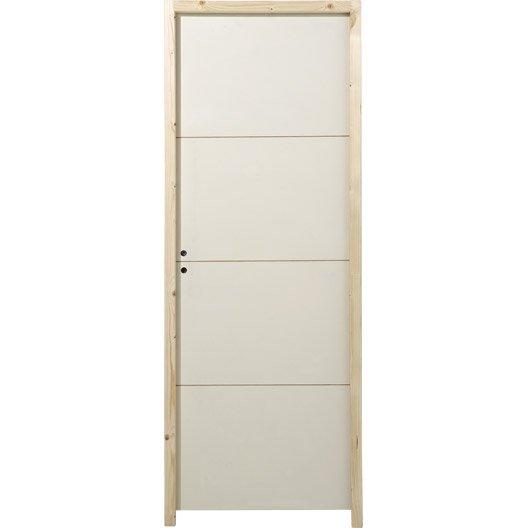 Porte acoustique isolante et coupe feu leroy merlin - Habillage porte interieur leroy merlin ...