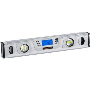 Niveau 2 fioles LASERLINER Niveau digilevel plus 40 laserliner, L.40 cm