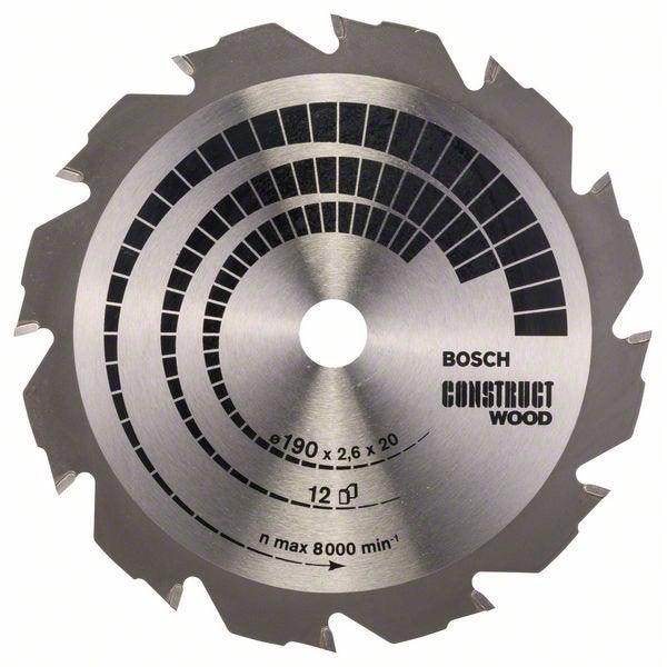 Lame coupe rapide et grossière BOSCH Scie circulaire 190 mm bois et  aluminium 9cdee142d5d8