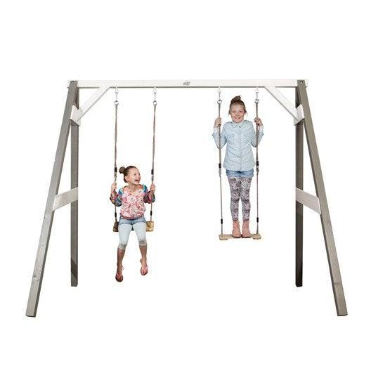 Balan oire portique aire de jeux enfants au meilleur for Altalena da giardino leroy merlin