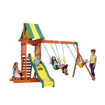 Balan oire portique aire de jeux enfants au meilleur prix leroy merlin - Aire de jeux en bois leroy merlin ...